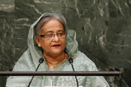 File photo of Bangladesh Prime Minister Sheikh Hasina.  (Image: Reuters)