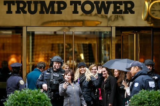 File photo: Trump Tower in New York. (Photo: AP)