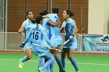 Indian Eves Thump Belarus 5-1 in First Hockey Test