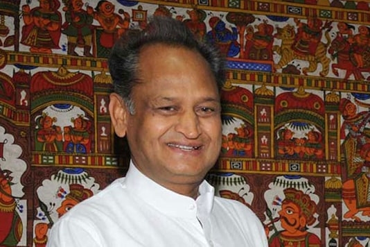 File photo of former Rajsthan CM Ashok Gehlot (Photo: PTI)
