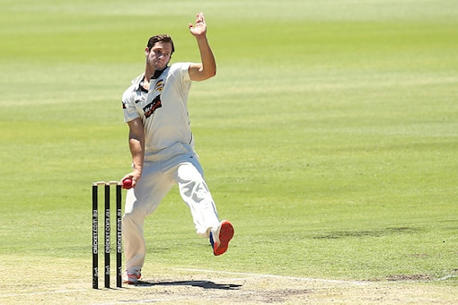 FIle Image of Hilton Cartwright playing in the Sheffield Shield. (Getty Images)
