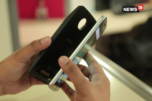 The Moto Z2 Play was recently unveiled for a price of $499, which roughly translates to Rs 32,200. Like the earlier Moto Z Play, this one will also offer Moto Mod support.  (Representative image: Siddharth Safaya/ News18.com)