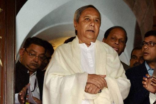 File photo of Odisha Chief Minister Naveen Patnaik. (Image: PTI)