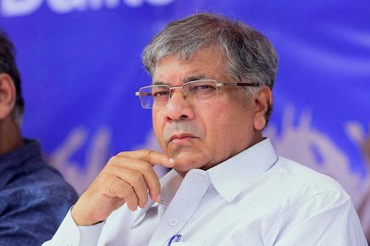File photo of Vanchit Bahujan Aghadi founder Prakash Ambedkar.