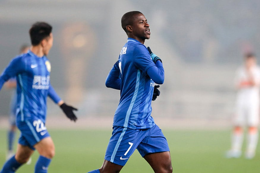 Brazilian Football Star Ramires now plays for  Shanghai SIPG. (Getty Images)