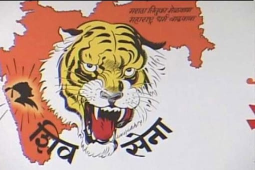 File image of Shiv Sena party logo.