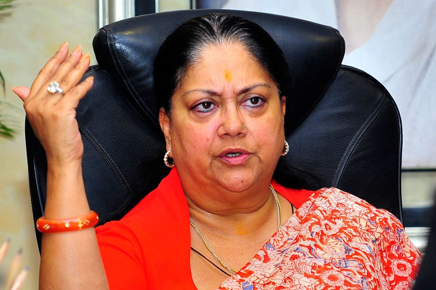 As Mystery Deepens Over New Rajasthan BJP Chief, CM Vasundhara Raje Visits