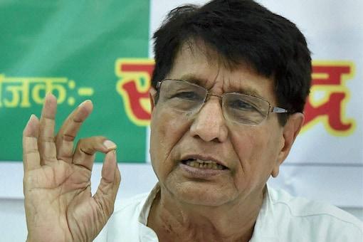 File photo of Rashtriya Lok Dal chief Ajit Singh. (PTI)