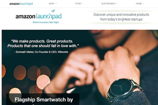 Amazon Launchpad store on Amazon.in features over 400 innovative products ranging from wearable technology, smart homes, food and beverage. (Image: Amazon India)