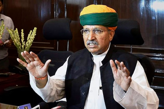 File photo of Union Minister Arjun Ram Meghwal (PTI)