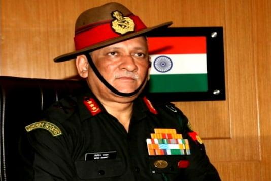 File photo of Army Chief General Bipin Rawat.