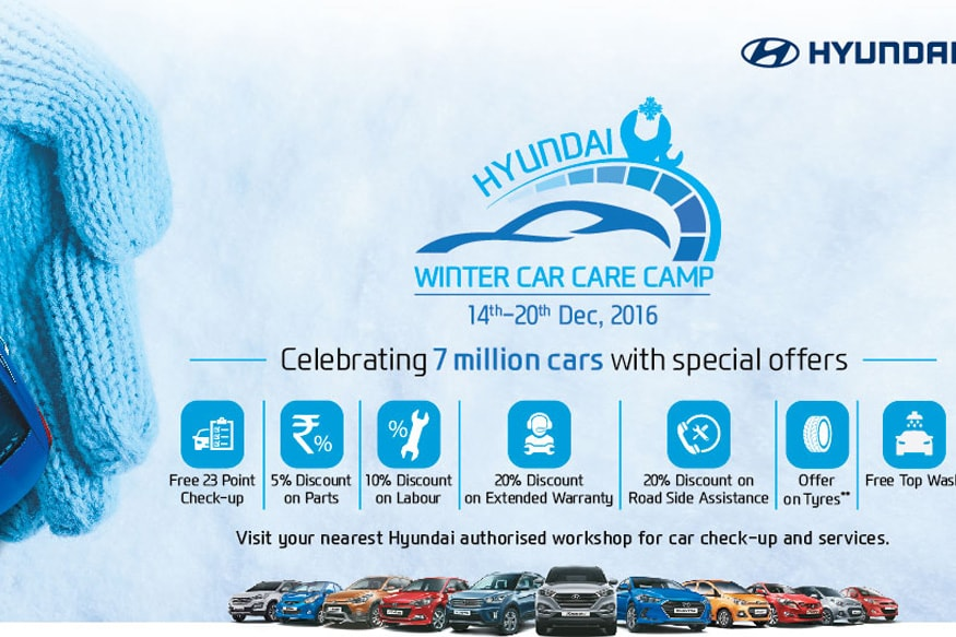 Hyundai Extended Warranty >> Hyundai Motor India Organises Five Day Winter Car Care Camp Across