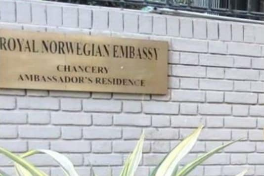 Norwegian Embassy in New Delhi.