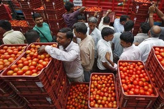 File photo of a wholesale mandi in Delhi.