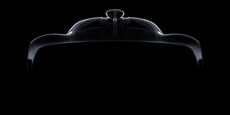 Mercedes-AMG Hypercar Skizze.