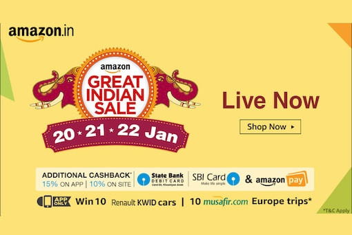 Here are the top deals to look out for on Day 3 of Amazon Great Indian Sale. (Image: Amazon India)