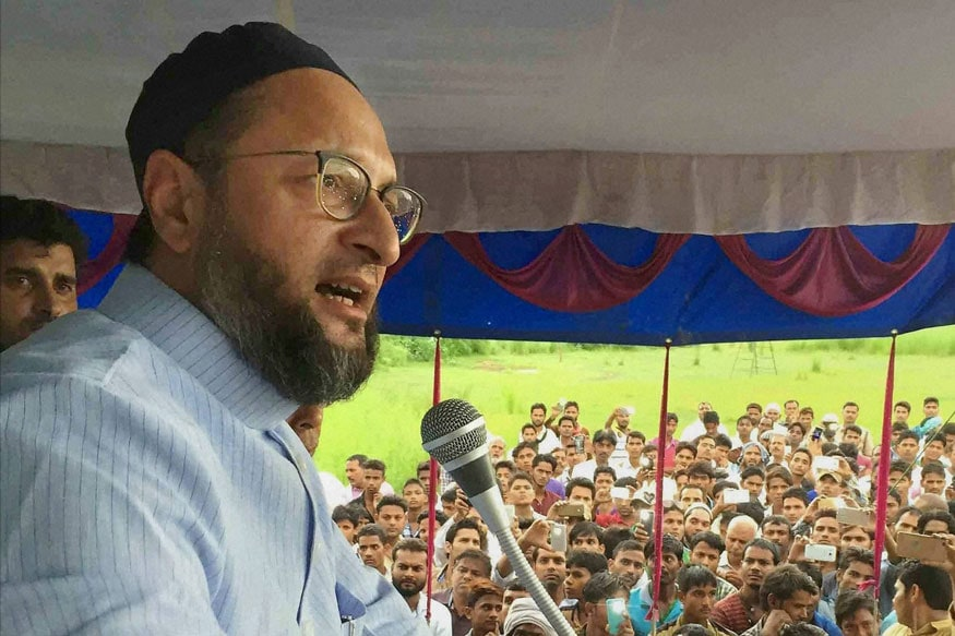 Owaisi Schools Yogi Adityanath on History, Says 'No One Can Force me to Flee My Father's Country'