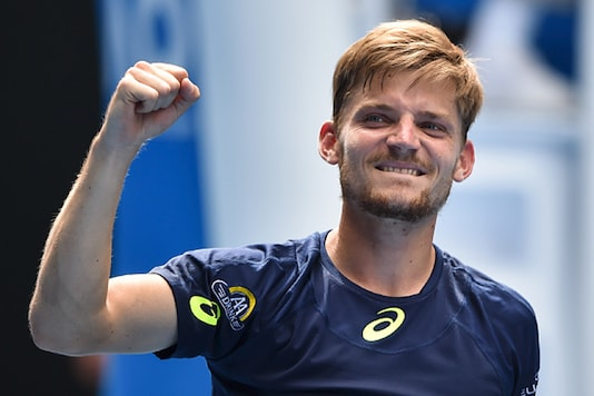 David Goffin. (Getty Images)