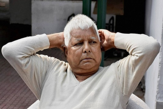 File photo of RJD supremo Lalu Prasad. (Photo: PTI)