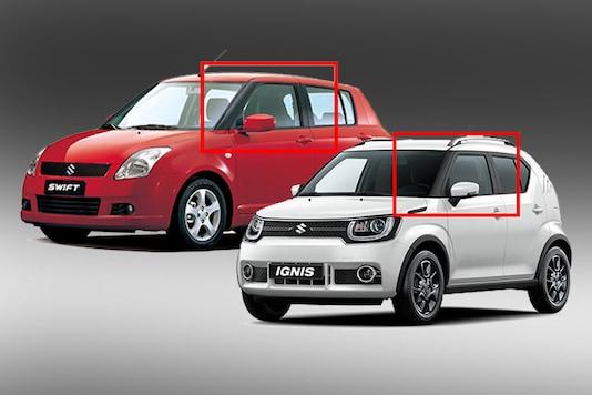 "The Maruti Suzuki Ignis takes design inspiration from the first generation Swift. (Photo Courtesy: <a href=""http://www.globalsuzuki.com/automobile/lineup/ignis/"" target=""_blank"">Global Suzuki</a>)"