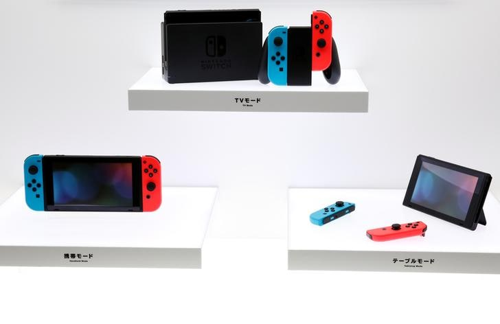 Nintendo, Nintendo Switch, Nintendo switch gaming console, Joy-Con controllers, Portable gaming device, Gaming
