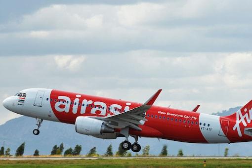 File photo of an AirAsia flight (Image Courtesy: AFP)