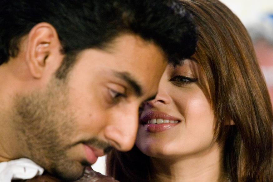 Image result for abhishek aishwarya romantic pics