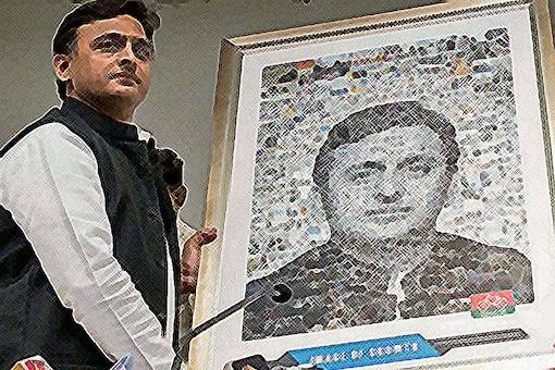File photo of Uttar Pradesh CM Akhilesh Yadav.