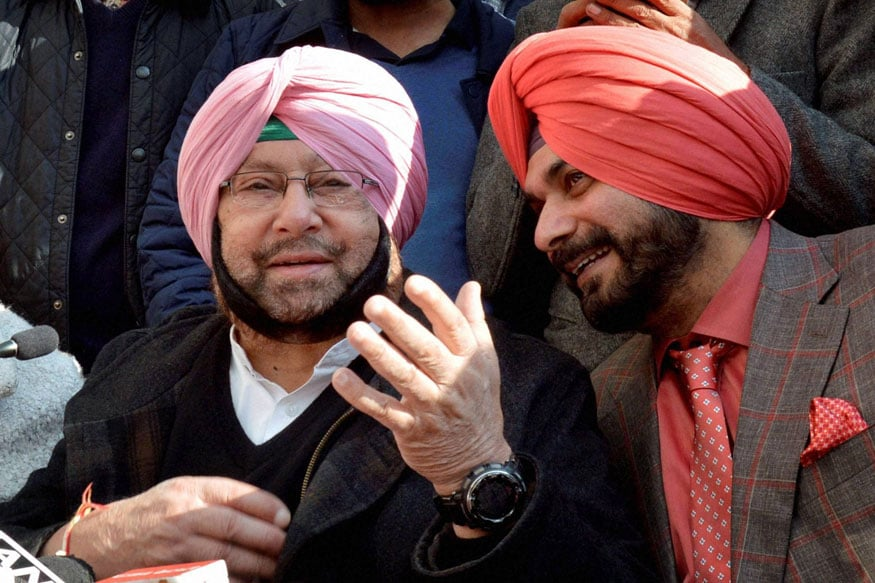 Punjab Congress Seeks Report into Amarinder, Sidhu