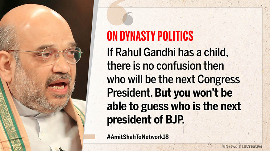 Amit Shah to Network18