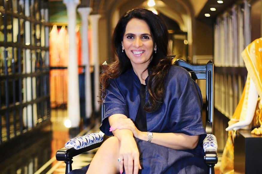 Anita Dongre on Saving Indian Handlooms From Dying
