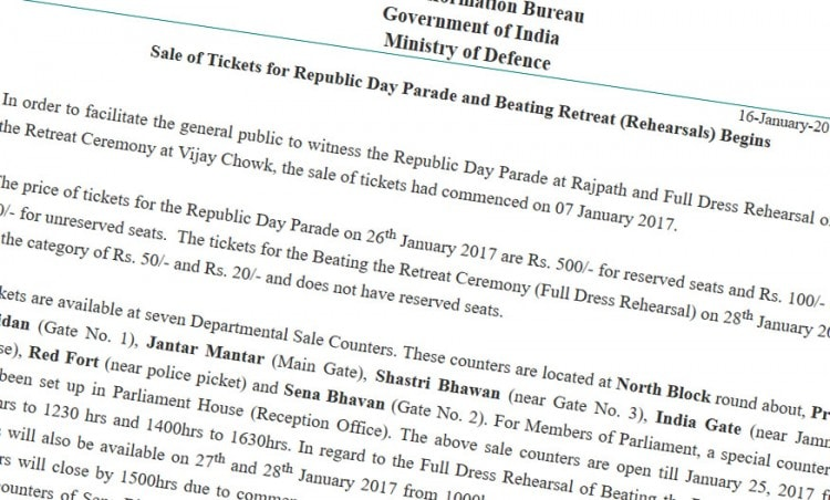 ministry-of-defence-r-day-tickets-press-release