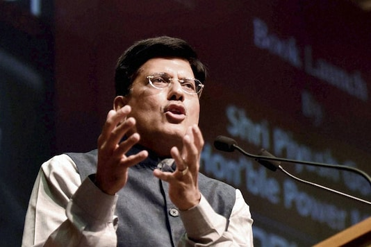 File photo of union minister Piyush Goyal.