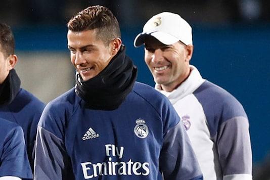 Cristiano Ronaldo and Zinedine Zidane (Getty Images)