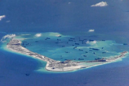 File photo of Chinese dredging vessels purportedly in the waters around Mischief Reef in the disputed Spratly Islands in the South China Sea. (Photo: Reuters)