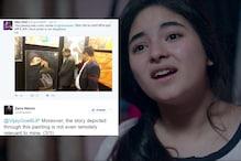 Zaira Wasim's Twitter Dangal With Vijay Goel