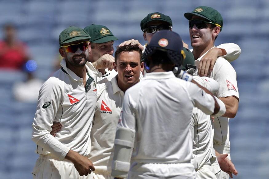 In Pics: India vs Australia, 1st Test, Day 2 in Pune