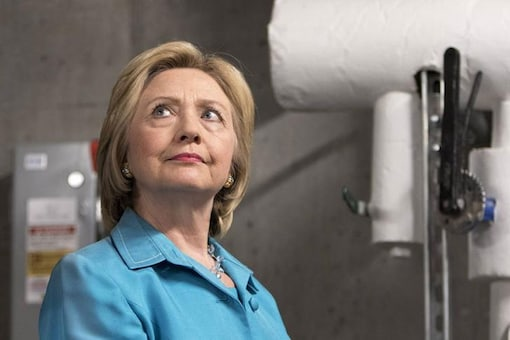 File photo of Hillary Rodham Clinton. (Image Reuters)
