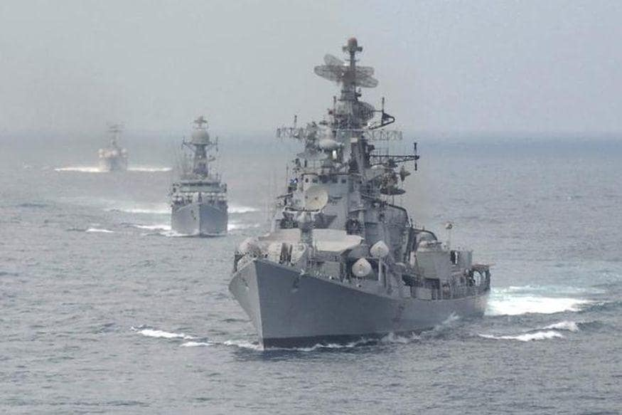 Amid Tensions with Beijing Post Galwan Clashes, Indian Navy Warships Set Sail for South China Sea - News18
