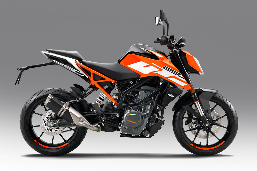 The KTM Duke 250. (Photo: KTM)