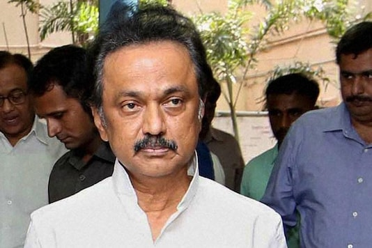File photo of DMK president MK Stalin.