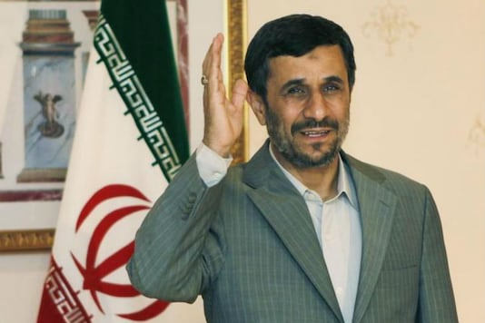 File photo of former Iran president Mahmud Ahmadinejad. (Reuters)