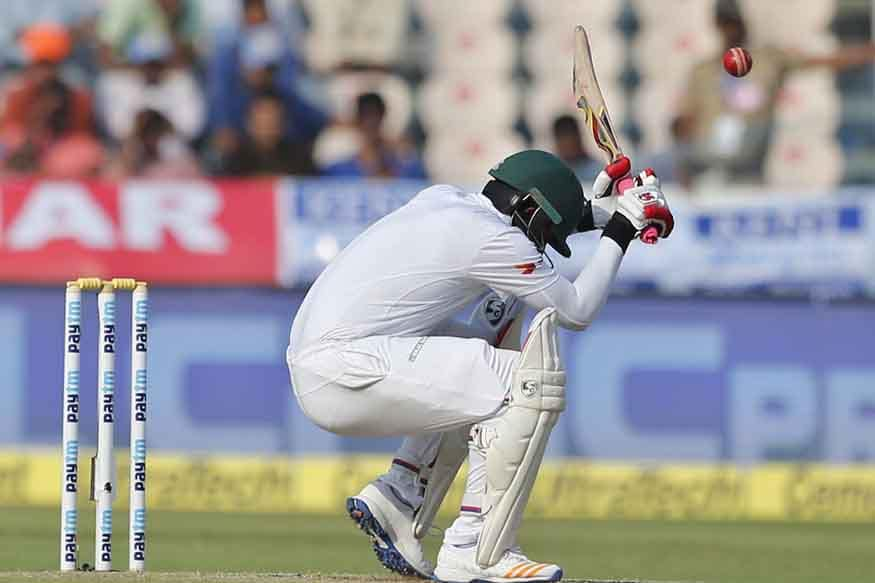 In Pics: India vs Bangladesh, Only Test, Day 2 in Hyderabad