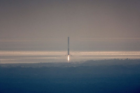SpaceX - Falcon 9 Rocket. Representative Image. (Image: Twitter/ Elon Musk)