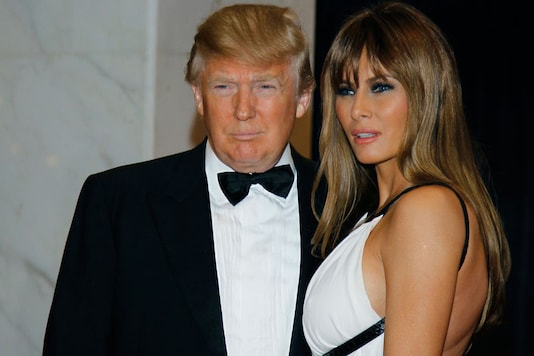 File photo of Donald Trump and Melania Trump at the White House Correspondents Dinner in Washington. (Reuters)