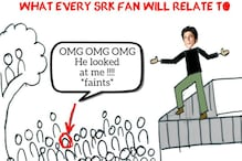 Shah Rukh Khan Acknowledged This Fan's Comic Strip In The Sweetest Way
