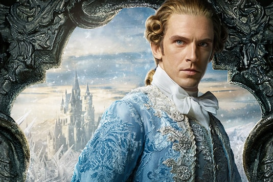 Image: A poster of Dan Stevens from Beauty and The Beast