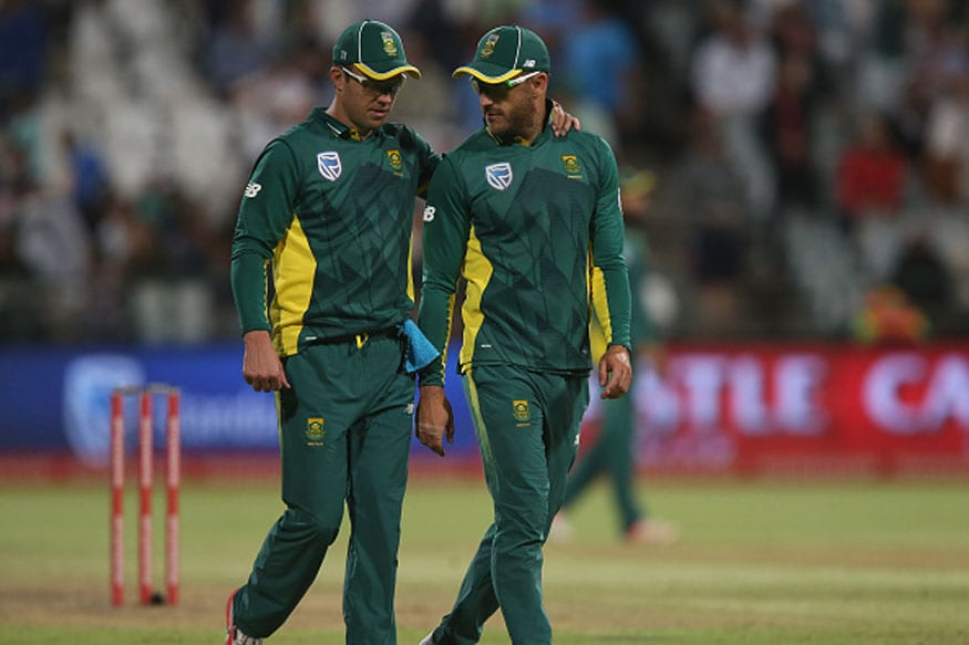 Faf du Plessis speaks about last-minute phone call from AB de Villiers