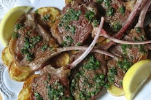 Lamb Chops With Mint Herb Sauce is Tasty St Patrick's Dish