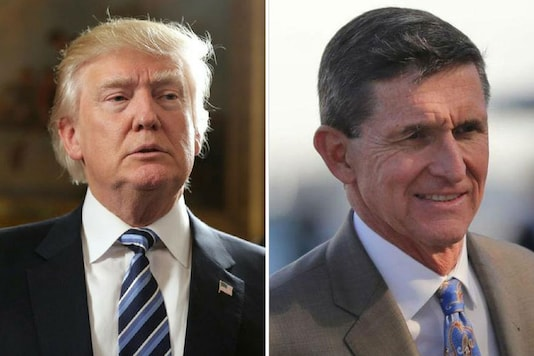 File photo of  Donald Trump and Michael Flynn